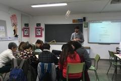 Zona intrusa 12 | Taller de Bartomeu Sastre a l'Institut Josep Puig i Cadafalch