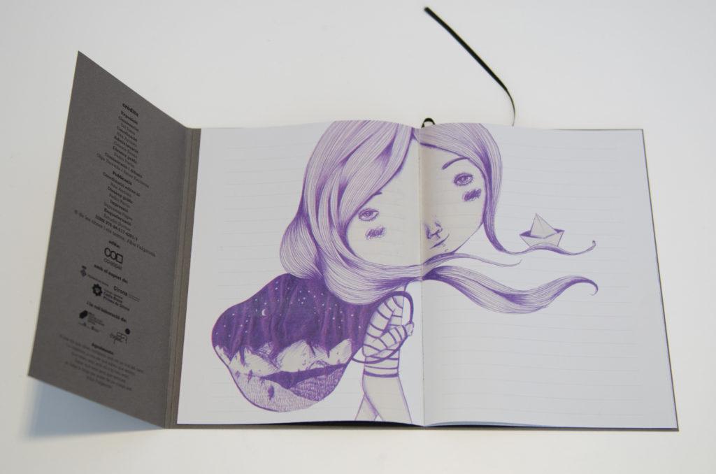 Llibre d'artista A flor de pell